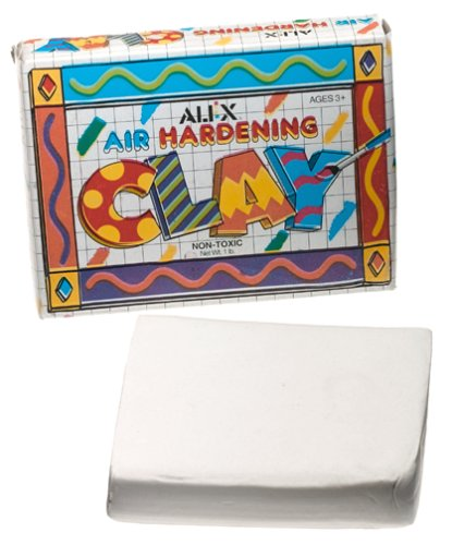 Alex Toys Air Hardening Clay 1 Lb: White