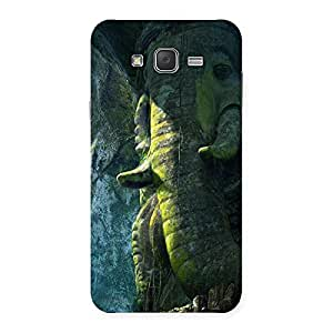 Rock Ganesha Back Case Cover for Galaxy J7