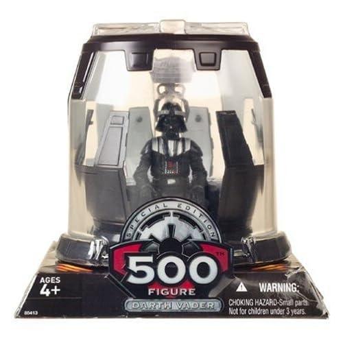 Star Wars 500TH FIGURE DARTH VADER by Hasbro TOY (English Manual)