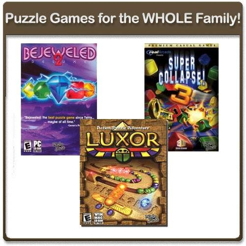 Mumbo Jumbo Challenging Puzzle Computer Games for The Whole Family