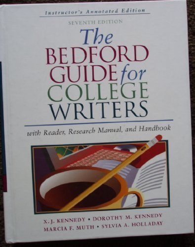 Bedford Guide for College Writers 7e 2-in-1 & i-claim