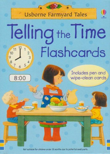 Telling the Time (Farmyard Tales Flashcards)