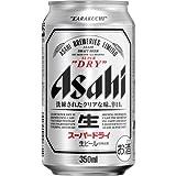 ★【4月23日まで】【タイムセール祭り】アサヒ スーパードライ 350ml缶×24本が4,375円!