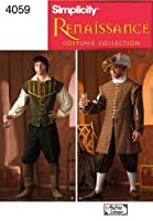 Simplicity Sewing Pattern 4059 Men Costumes, A (XS-S-M-L-XL) from Simplicity Creative Inc. Patterns