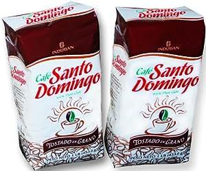 Amazon.com : Santo Domingo Whole Roasted Bean Dominican Coffee 2 Bags