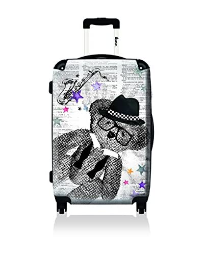 "ikase 20"" Let's Play By Lulu Castagnette Suitcase, Black"