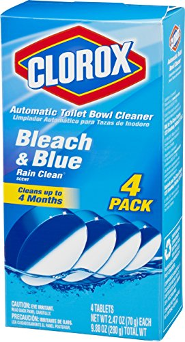 Clorox Automatic Toilet Bowl Cleaner Bleach And Blue