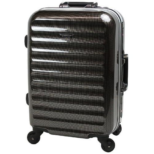 【SUCCESS サクセス】 スーツケース 小型 (機内持込み可能)【TSAロック搭載 超軽量フレーム グラード2013 Sサイズ 3.3kg 31リットル】 (小型75㎝ 3.3kg 31L, カーボンブラック)