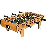 Mini Tischfußball, Maße: 70 cm (L) x 37 cm (B) x 25 cm (H), Gewicht: 4 kg, 6 Spielstangen, inkl. 2 Bälle