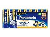 Panasonic エボルタ乾電池単三型8本パック LR6EJ/8SW