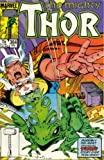 "Thor #364 ""Thor Is Transformed Into a Frog"""