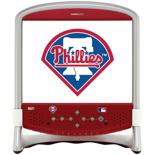 Hannspree'S Mlb Phillies Sandlot 15-Inch Lcd Television