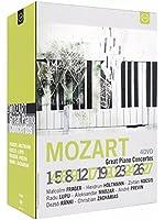Mozart: Great Piano Concertos [Mitsuko Uchida, Vladimir Ashkenazy, Homero Francesch, André Previn]  [Euroarts: 2001038] [DVD] [2013] [NTSC]