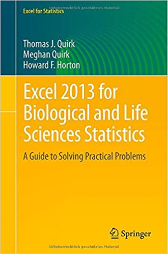 FOR LIFE SCIENCES STATISTICS