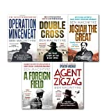img - for Ben Macintyre 5 Books The True Story Collection Pack Set, (Double Cross Operation Mincemeat Agent Zigzag A Foreign Field and Josian the Great) book / textbook / text book