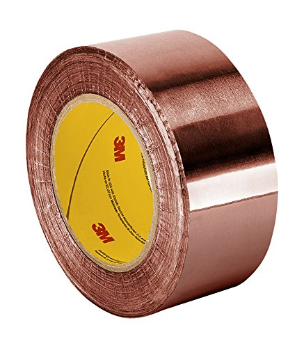 Best price TapeCase Copper Foil Tape with Acrylic Adhesive, Converted from 3M 1126, 36 yd Length, 4