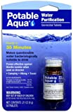 Potable Aqua Water Treatment, Super Savings, 100 Tablet-Value Pack