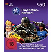 Post image for 50€ Playstation Network Card für 42€ *UPDATE*