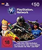 PlayStation Network Card (50 Euro) – Deutschland