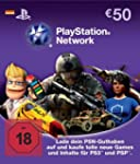 PlayStation Network Card (50 Euro) -...