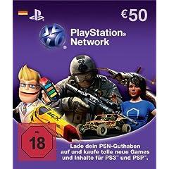 PlayStation Network Card (50 Euro) - Deutschland