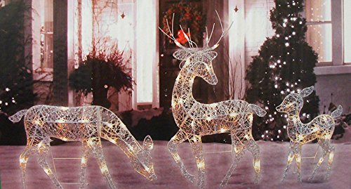 Reindeer Lighted Yard Displays