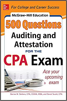 McGraw-Hill Education 500 Auditing and Attestation Questions for the CPA Exam (McGraw-Hill's 500 Questions) e-book downloads