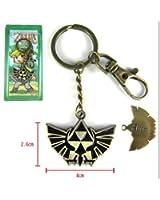 The legend of zelda link key chain keyring keychain