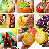 おままごと おもちゃの神様 野菜と果物 セット 切れる 包丁 まな板付き 知育玩具 by SkySea