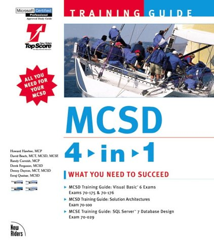 MCSD Training Guide 4-In-1 Bundle with CDROM