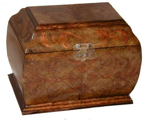 classically-european-bombe-box-gold-stencil-design-hand-made-and-hand-painted