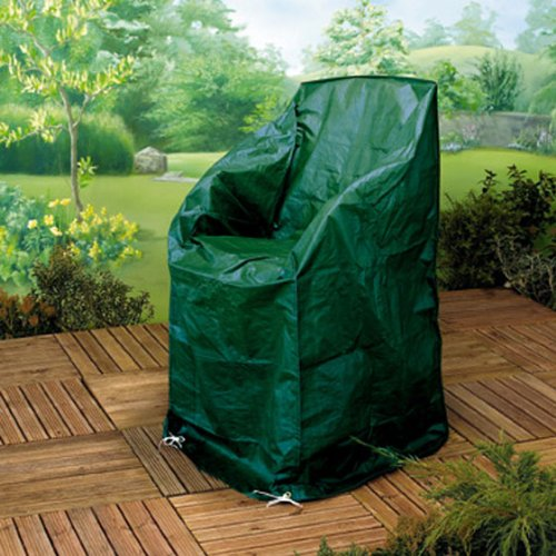 GARDMAN GARDEN CHAIR COVER FITS 4 STACKING / 1 RECLINER