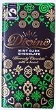 Pack Of Three Divine Fair Trade Dark Chocolate Bar with Mint