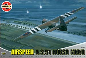 Airfix A05036 1:72 Scale Horsa Glider Military Aircraft Classic Kit Series 5 from Hornby