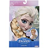 Jakks Pacific Disney Frozen Elsa Wig, Blonde Wig, Childrens Costume, Beautiful Wig From Disney's: Frozen This Beautiful Blonde Braid Features Shimmering Strands Comes with Beautiful Blue Ribbons