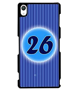 Printvisa 2D Printed Numerology Designer back case cover for Sony Xperia Z3 - D4246