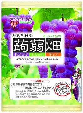 (お徳用ボックス) マンナンライフ 蒟蒻畑 ぶどう味 25g×12個×12袋