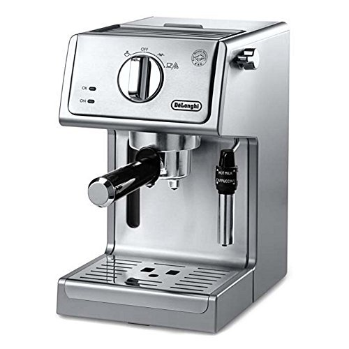 Meet the De'Longhi 15in. Bar Pump Espresso and Cappuccino Machine - The Best Home Espresso Machine That I've Ever Seen!