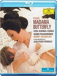 Madama Butterfly: Wiener Staatsoper (Karajan) [Blu-ray] [2014] from Deutsche Grammophon