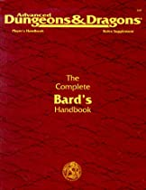 The Complete Bard's Handbook: Player's Handbook Rules Supplement, PHBR7, 2nd Edition (Advanced Dungeons & Dragons)