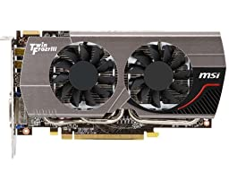 MSI AMD Radeon HD 7850 2GB GDDR5 PCI Express 3.0 Graphics Card R7850 Twin Frozr 2GD5