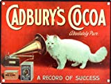 Own this Vintage Cadbury's Cocoa Advertisement Tin Sign 15x20cm