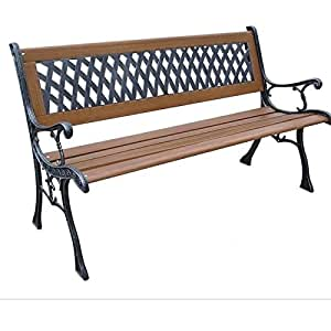 1119997 in addition Adjustable Vintage Stool W Cast Iron Base In Black likewise Balinese Carved Sleigh Bench as well Gardening Accessories Amazon besides Wood Patio Bench. on amazon cast iron benches outdoor furniture