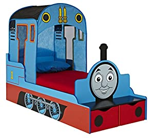 Thomas the Tank Engine Toddler Bed and Storage by HelloHome