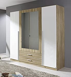 roller kleiderschrank goslar schlafzimmerschrank garderobenschrank k che haushalt. Black Bedroom Furniture Sets. Home Design Ideas