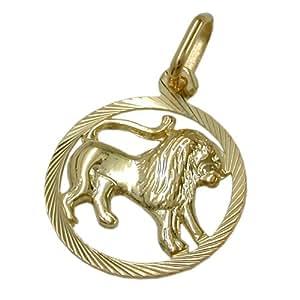 Gallay Anhänger Sternzeichen Löwe 375 Gold 9Kt