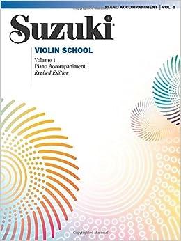 Amazon.com: Suzuki Violin School, Volume 1: Piano Accompaniment