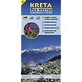 Kreta Touristikkarte 1:100.000: Der Westen