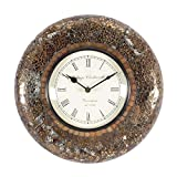 Home And Bazaar Traditional Rajasthani Wall Clock With Broken Glass Finish - B00REJSBRE