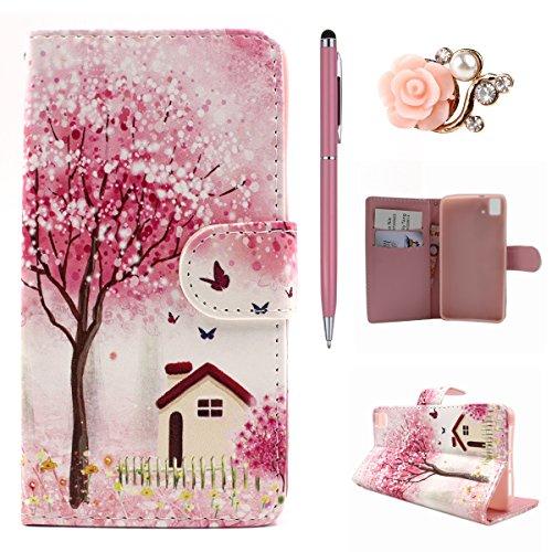 huawei-honor-7-flip-hulle-felfy-handytasche-fur-huawei-honor-7-elegant-pink-cherry-baum-house-stil-m